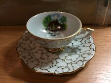 More details for porcelain ceramic cup and saucer bad essen mühle collectibles