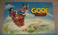 """Vintage """" Goof Troop"""" Goofy Disney Post Card"""