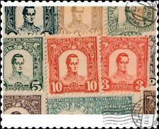 Antioquia : 10 Different Stamps Collection