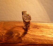 Anillo de sello bronce medieval tardía-Metal detectar encontrar