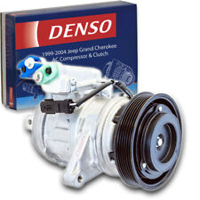 Denso AC Compressor & Clutch for Jeep Grand Cherokee 4.0L L6 1999-2004 HVAC oi