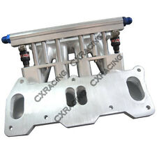 CXRacing Lower Intake Manifold For Mazda 13B REW Rotary Engine 4 Port RX7 FD