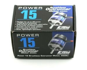 Eflite Power 15 Brushless Outrunner Electric RC Airplane Motor 950kv EFLM4015A