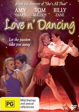 LOVE N DANCING Amy Smart Billy Zane and Malloy NEW DVD (Region 4 Australia)