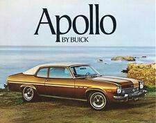 1973 Buick Apollo Original Car Sales Brochure Catalog