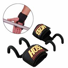 Weight Lifting Support Wraps Gym Gloves Eagle Claw Steel Hooks Gym Straps HG-606