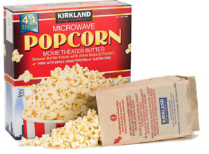 Kirkland Signature Microwave Popcorn, 44 x 93g  FREE DELIVERY