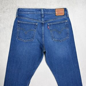 Womens LEVIS 501 S Skinny JEANS size W28 L28 High rise waist Tapered leg UK 8-10