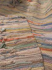 Cotton Area Rug Floor Mat Carpet Feet Rug Home Decorative Door Mat Braided Med
