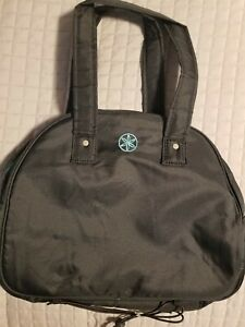 Gaiam Zipper Yoga Tote Bag Bungee cord mat carrier Workout Exercise Gym NWOT.