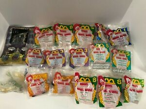 Lot McDonalds Happy Meal Fast Food Toys 15 Marvel Figures, Vehicles & 1 3D Max