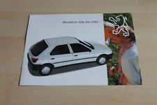 106938) Peugeot 306 XN XND Prospekt 12/1993