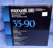 SEALED Original Maxell UD 35-90(N) Professional Reel To Reel Tape EXTENDED RANGE
