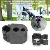 Medical Wheelchair Rollator Walking Stick Cane Crutch Holder Mobility Aid Supply