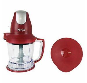 ninja storm model QB751Q food processor drink mixer blender red 450w motor power