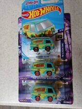 2019 HOT WHEELS THE MYSTERY MACHINE RR  PREMIUM AND BASIC MAINLINE (LOT OF 3)
