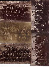 115089 5 AK Studentika  Bergfest 1908 - 1911  Fotokarte Studenten
