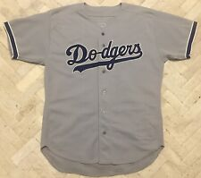 Vintage Authentic Russell 1997 Brown Los Angeles Dodgers MLB Game Jersey 48 🇺🇸