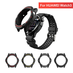 For Huawei Watch 3 Smart Watch Shockproof Cover Screen Protector TPU Case