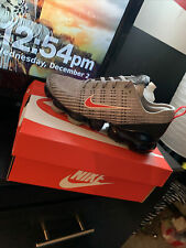 Grey Red And White Nike Vapor Max Suse 5 In Boys