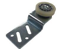 Rodamiento de rueda Corredor Puerta Frontal Colgador Puerta Armario Caliente Tipo de nylon transparente Offset