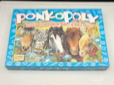 PONY OPOLY BOARD GAME - HORSE MONOPOLY - VGC & COMPLETE WITH INSTRUCTIONS