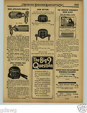 1929 PAPER AD Buell Explosion Whistle Single Chime Tone Car Auto