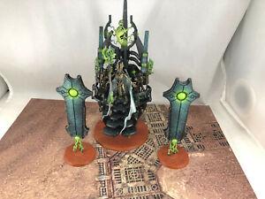 Warhammer 40k Necrons Silent King Painted