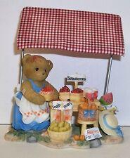 Cherished Teddies Josephine Figurine New # 4007741 Many Fruits Friendship
