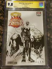 Infinity Wars Ghost Panther #1 1:10 Sketch Variant CGC 9.8 SS Humberto Ramos