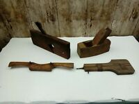 VINTAGE WOODEN PLANES, DIFFERENT TYPES, ONE REALLY UNUSUAL