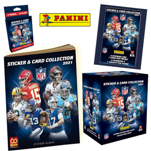 Panini NFL 2021/2022 Sticker & Card Collection - Choose Packs, Starter Pack Etc