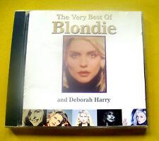 """CD """" BLONDIE & DEBORAH HARRY - THE VERY BEST OF """" BEST OF / 20 SONGS (CALL ME)"""