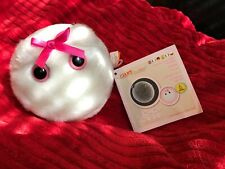 giant microbes Egg Cell Plush Toy Pink Bow Gift Science Cute Baby