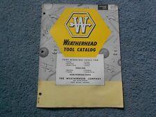 VINTAGE 1957 6111 WEATHERHEAD TOOL CATALOG TUBE & HOSE WORKING TOOLS ORIGINAL