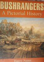 BOOK ILLUSTRATED BUSHRANGERS A HISTORY 226 PAGES AUSTRALIAN AUSTRALIANA EX LIBIS