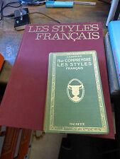 lot de 2 livres sur les styles français par Joseph gauthier et claude frégnac