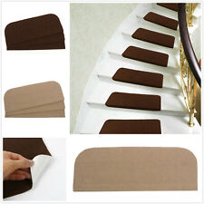 13Pc Self-adhesive Stair Treads Non Slip Indoor Step Protection Mat Home Decor