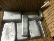 Hand Poured Aluminum Ingots / Bars - Total 34 Lbs