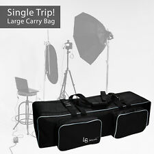 Photo Studio Equipment Carry Bag large storage bag removable padding lighting