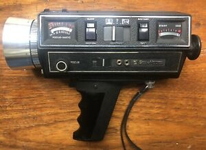 BELL & HOWELL AUTOLOAD 1216 SUPER 8 MOVIE CAMERA  6 X ZOOM F/1.9 8.5mm – 51mm