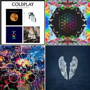 Coldplay Complete Studioalbum Box - Coldplay Greatest Hits 7 CD Bundling Best of