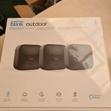 Blink Outdoor Battery Powered 3 Camera System Works With Alexa New