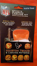 Houston Texans NFL Officially Licensed Pumpkin Carving Kit, Halloween Football
