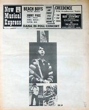 NME 25 APR 1970 . THE BEATLES PAUL MCCARTNEY COVER . JIM MORRISON . LED ZEPPELIN