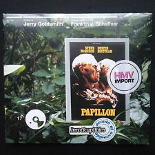 PAPILLON Film Soundtrack OST CD Jerry Goldsmith [French import] McQueen Hoffman