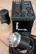 Profoto  Pro-7B  battery pack  1200w + Pro B head lighting kit