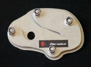 Honda VARADERO XL 1000 side kickstand support enlarger plate pad foot extension