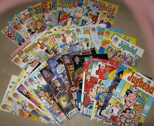 Jughead Comics from Archie Lot of 41 Issues Most VF+ to NM Some Signed by Artist