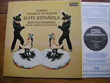 SXL 6355 ALBENIZ: SUITE ESPANOLA  FRUHBECK DE BURGOS / NPO   NB   NM  AS LIST